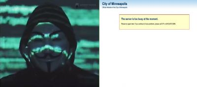, Here's Anonymous Message To The Minneapolis Police Department (Video)