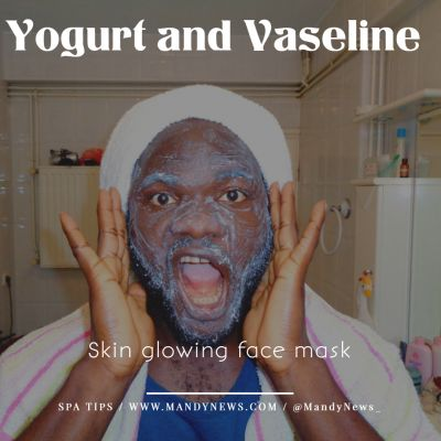 Yoghurt And Vaseline For Face Mask