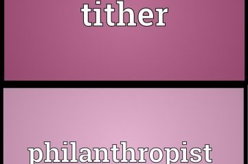 tither-and-a-philantropist
