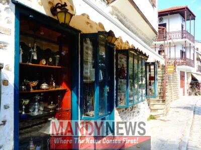 shops in Makrinitsa, Pelion