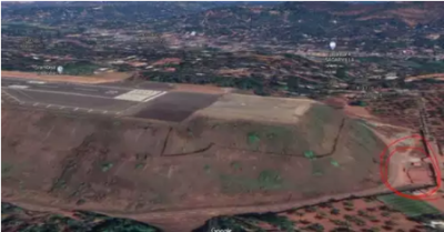 Spot-where-the-plane-fell-after-overshooting-runway