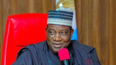 Photo of Governor Simon Lalong Rejects Ending Of SARS