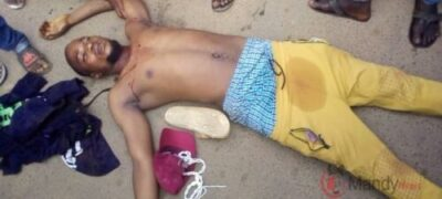 Photo of Oyetola Convoy Shot #EndSARS Protesters In Osogbo One Dead, Several Injured