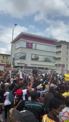 Photos From Surulere End Sars Protests