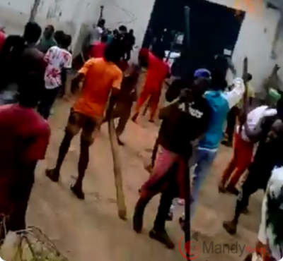 Watch As Hundreds Of Prisoners Escape From Benin Jail