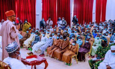 Kankara Schoolboys Meets Nigerian President