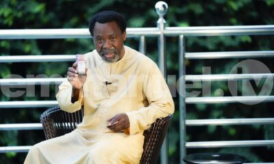 New TB Joshua Anointing Water And Sticker 2021