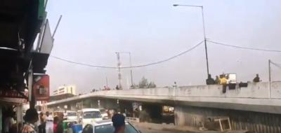 Defenders Of Lagos – NURTW Thugs Clash In Bloody Obalende Street