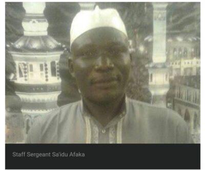 Sa'idu Afaka: Driver Arrested For Tricking President Buhari