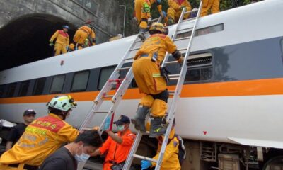 Taiwan Train Crash: 50 killed, 146 Injured In Accident With Runaway Truck