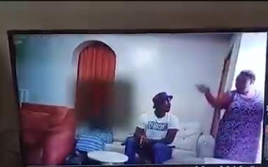 Watch Baba Ijesha CCTV Video Molesting A Child